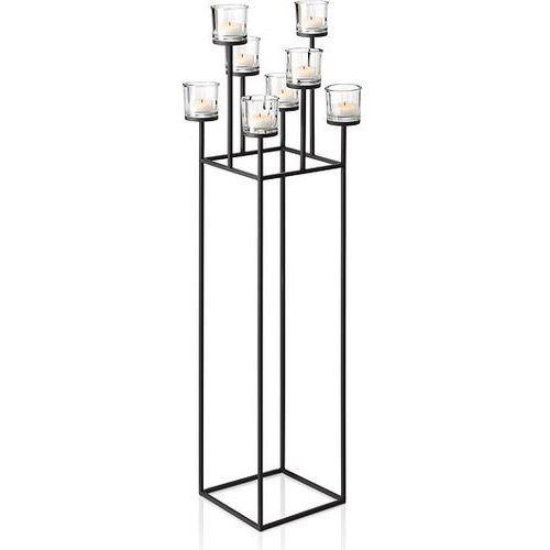Świecznik wolnostojący na 8 świec Nero (4008832655722)