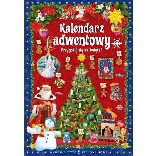 Zielona sowa Kalendarz adwentowy przygotuj się do świąt tw (9788378955849)