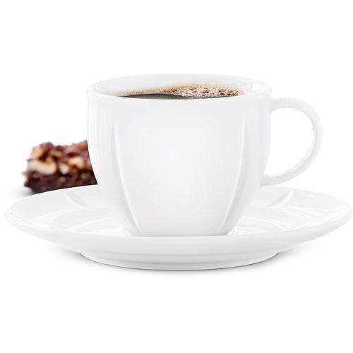 Filiżanka do kawy ze spodkiem grand cru soft (20551) marki Rosendahl