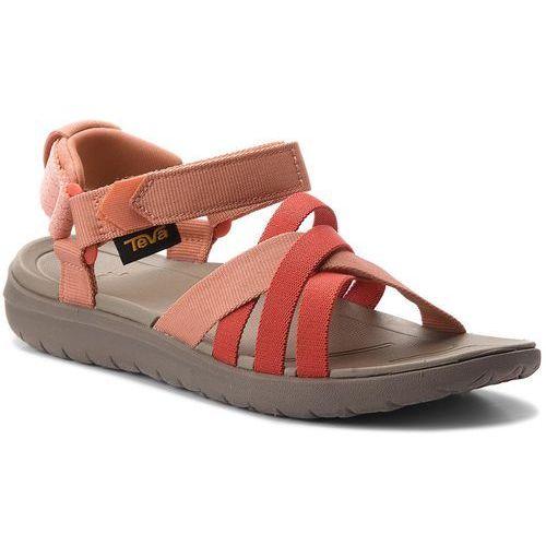 Sandały - sanborn sandal 1015161 coral sand marki Teva