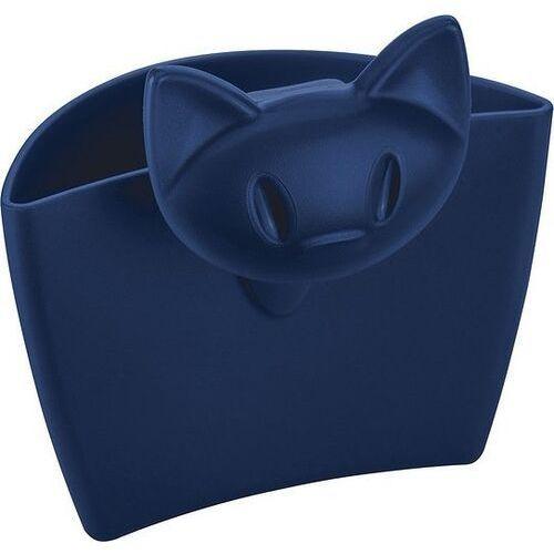 Koziol Pojemniczek do zawieszania na kubek miaou - niebieski
