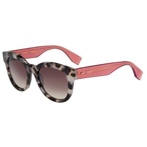 Fendi Okulary słoneczne ff 0026/s color block 7oq/oh
