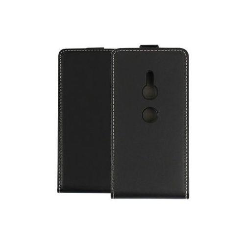 Sony Xperia XZ2 - etui na telefon Forcell Slim Flexi - czarny, kolor czarny
