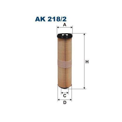 218/2 ak filtr powietrza mercedes marki Filtron