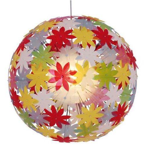 Nave Lampa wisząca flower bowl 7024461 okrągła oprawa nowoczesna zwis do pokoju dziecięcego kula ball multikolor