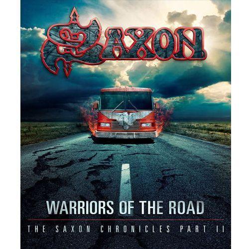 WARRIORS OF THE ROAD - THE SAXON CHRONICLES (BLU-RAY+CD) - Saxon (Płyta DVD)