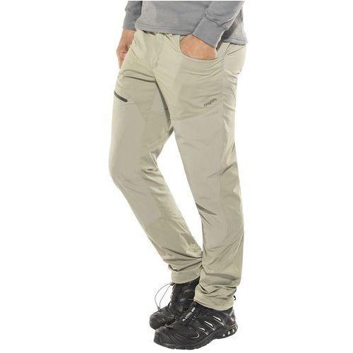 Haglöfs Lite Hybrid Spodnie długie Mężczyźni beżowy S 2018 Spodnie turystyczne