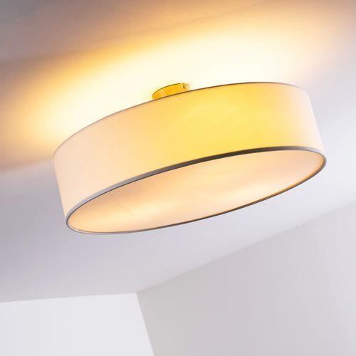 Hofstein Foggia lampa sufitowa biały, 3-punktowe - design - obszar wewnętrzny - foggia - czas dostawy: od 2-4 dni roboczych