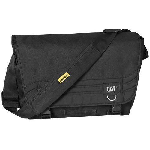 "Caterpillar Millenial Classic Aron torba na ramię na laptopa 15"" CAT / Black - Black, kolor czarny"