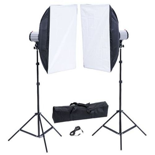 Vidaxl  zestaw studio: lampa, softboks 50 x 70 cm i statyw (8718475814979)