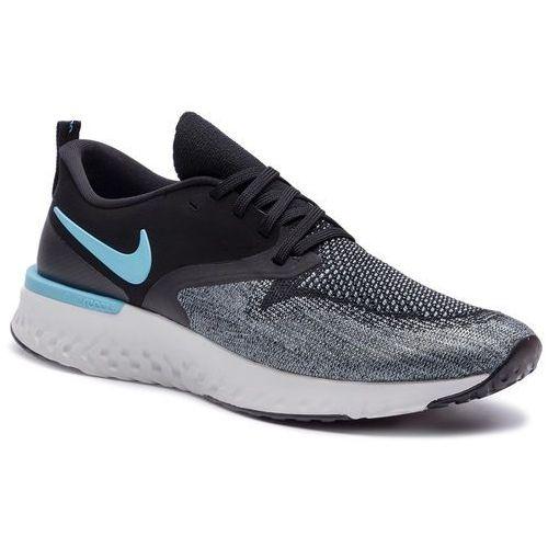 Nike Buty - odyssey react 2 flykint ah1015 002 black/bue fury/aviator grey