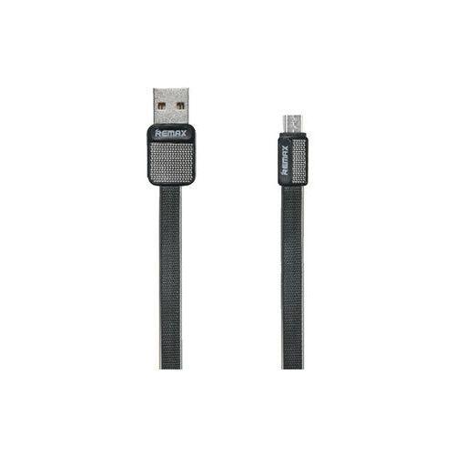 REMAX RC-043m Platinum kabel micro USB 1m czarny - Czarny (7426790580172)
