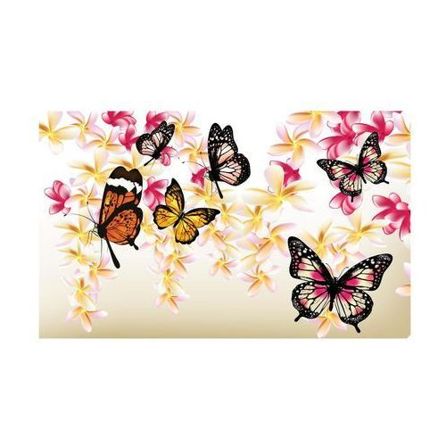 Consalnet Kanwa motyle na gałązkach 100 x 75 cm (5901383494569)