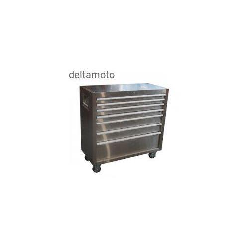 Szafka narzędziowa stalowa, 7 szuflad, TBC104BRVS