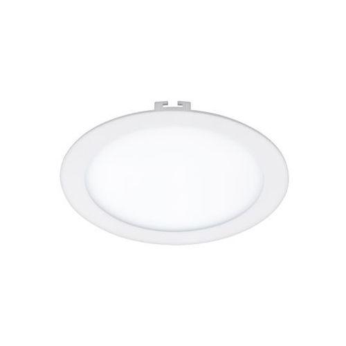 Eglo Oczko lampa sufitowa fueva 1 94064 podtynkowa oprawa led 16w okrągły wpust ip20 biały