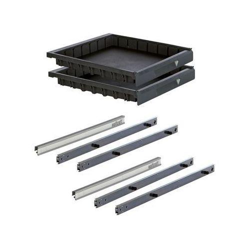 Wolfcraft Komplet 2 szuflad do stołu warsztatowego r. s / 6779000