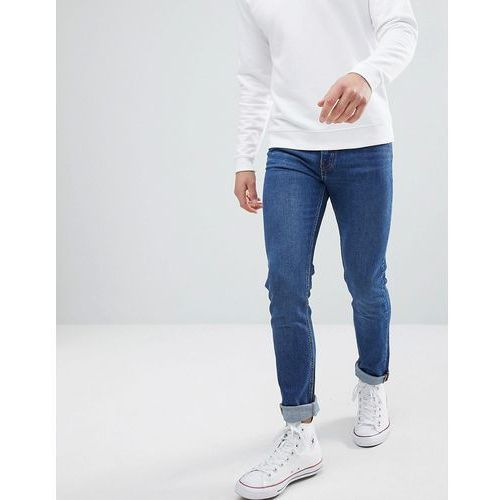 Weekday friday peralta blue skinny jeans - blue