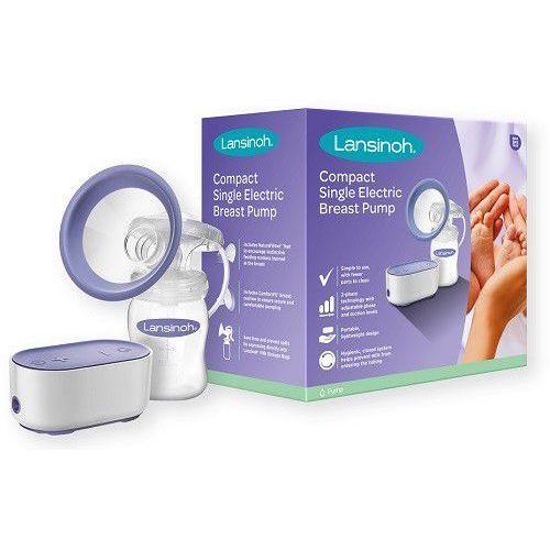 laktator compact single electric breast pump elektryczny + power bank marki Lansinoh