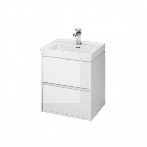 CERSANIT CREA Szafka podumywalkowa 50, biała S924-002, kolor biały