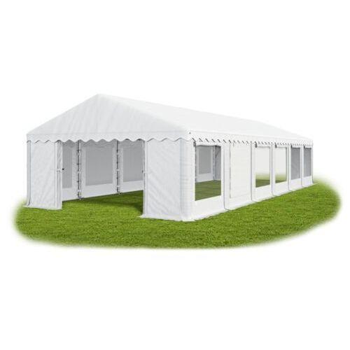Namiot 6x12x2, solidny namiot bankietowy, winter/pe 72m2 - 6m x 12m x 2m marki Das company