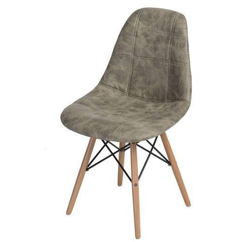 Producent: elior Krzesło p016w pico jasne drewniane nogi (szare) d2