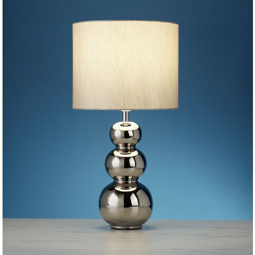 Searchlight Eu4426cc ashmore lampa biurkowa abażur chrome