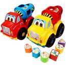 Zabawka SWEDE G808 Ciężarówka betoniarka sorter
