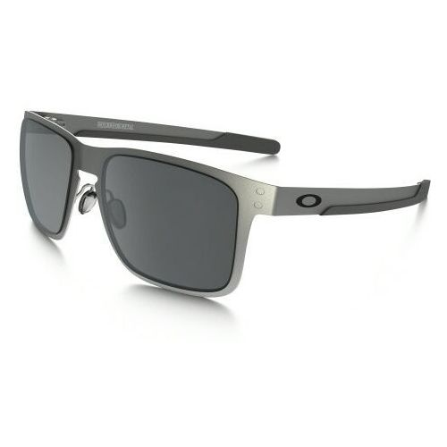 Oakley Okulary holbrook metal satin chrome black iridium oo4123-0355