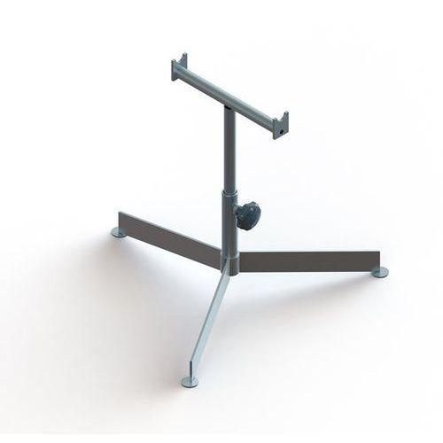 Kozioł wsporczy na trzech nogach, lekki, do taśmy o szer. 300 mm, wys. do nakład marki Gura fördertechnik