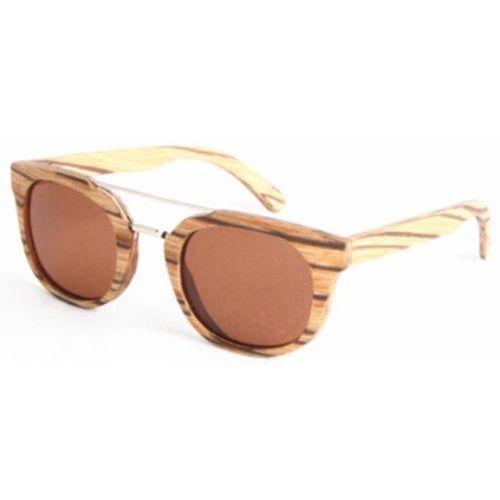 Okulary Słoneczne Oh My Woodness! Death Valley Polarized C4 LS2150, kolor żółty