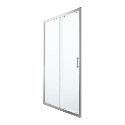 Cooke&lewis Drzwi prysznicowe przesuwne beloya 120 cm chrom/transparentne (3663602945017)