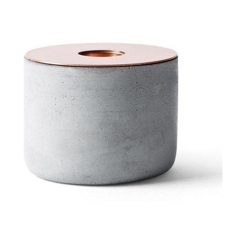 - świecznik chunk of concrete - średni marki Menu
