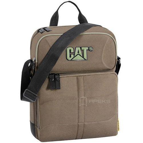 Caterpillar charlie ii torba na ramię saszetka / tablet 10'' cat / brązowa - army green (5711013047160)