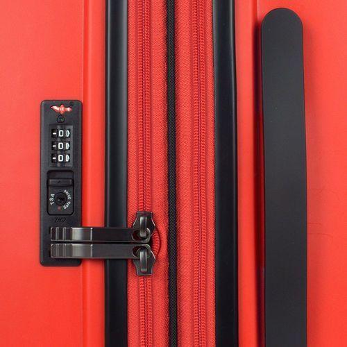 Bg berlin zip2 walizka średnia poszerzana antywłamaniowa 69,5 cm / latin red - latin red (6906053058804)