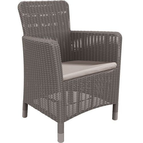 Allibert krzesło ogrodowe trenton cappuccino 226454