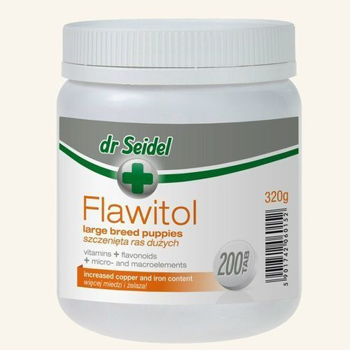 FLAWITOL - dla szczeniąt ras dużych 60tbs (5901742060145)