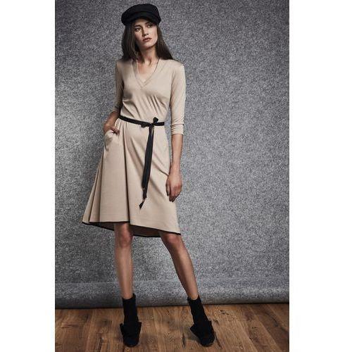 Beżowa sukienka - marki Ennywear