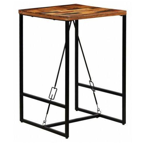 Industrialny stolik barowy 70x70 – wick 2x marki Elior
