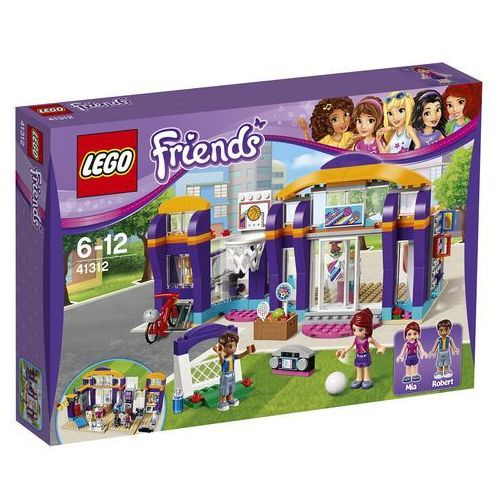 Lego FRIENDS Centrum sportu w heartlake 41312. Najniższe ceny, najlepsze promocje w sklepach, opinie.