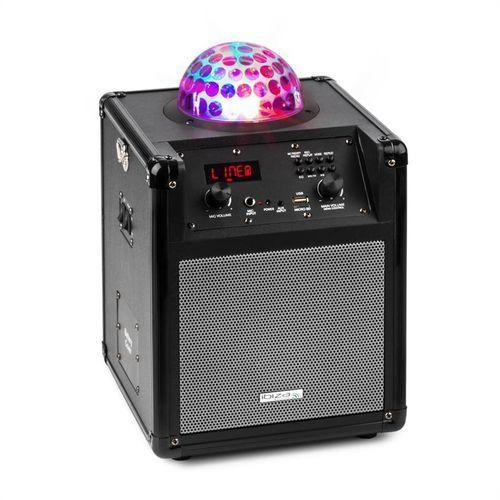kube 60 przenośna kolumna głośnikowa usb sd aux ukf akumulator astro-rgb-l marki Ibiza