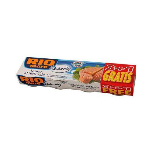 4x80g tuńczyk w sosie własnym marki Rio mare