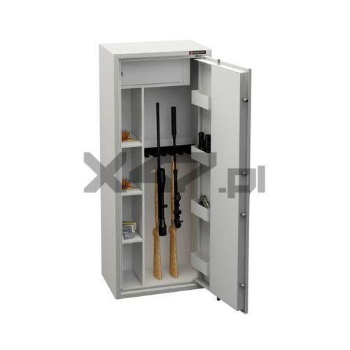Szafa na broń długą mlb 150d/6+4 s1 el marki Konsmetal