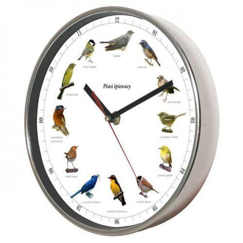 Atrix Zegar chromowany z głosami ptaków #1