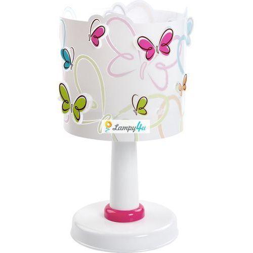 Klik 62141 lampa stołowa dziecięca butterfly e14/40w marki Dalber