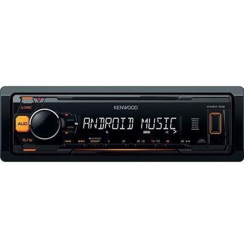 Kenwood KMM-102, sprzęt car-audio