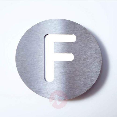 Tabliczka z numerem domu ROUND, st. szl. – F