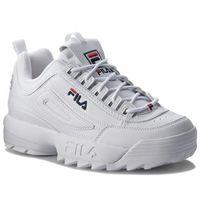 Sneakersy - disruptor low white marki Fila