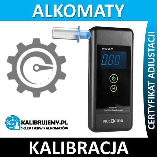 Kalibracja alkomatu pro x-5 (prox5) w [24h] marki Alcofind