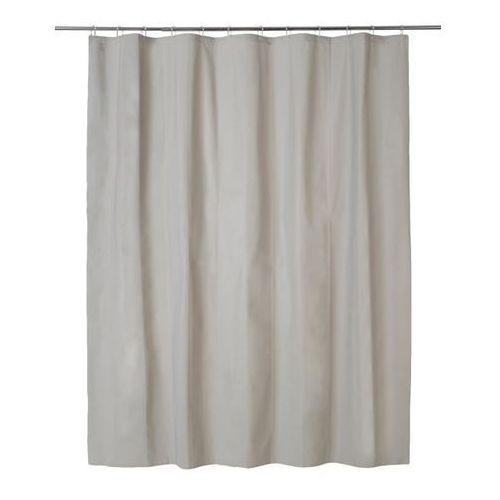 Zasłonka prysznicowa Palmi 180 x 200 cm taupe