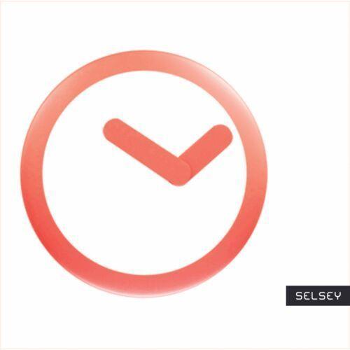 SELSEY Zegar ścienny Focus średnica 25 cm (5903025481968)